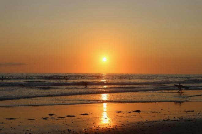 Encinitas solnedgång